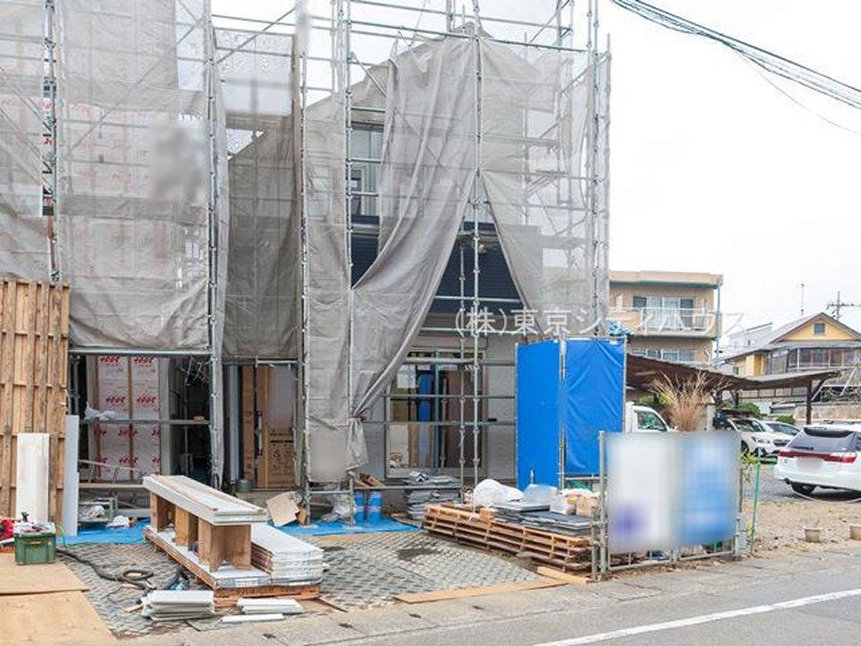 新築戸建 JR南武線「稲城長沼」駅徒歩5分・全室2面採光・オープンキッチン・リビング階段・ロフト・南道路に接道 イメージ